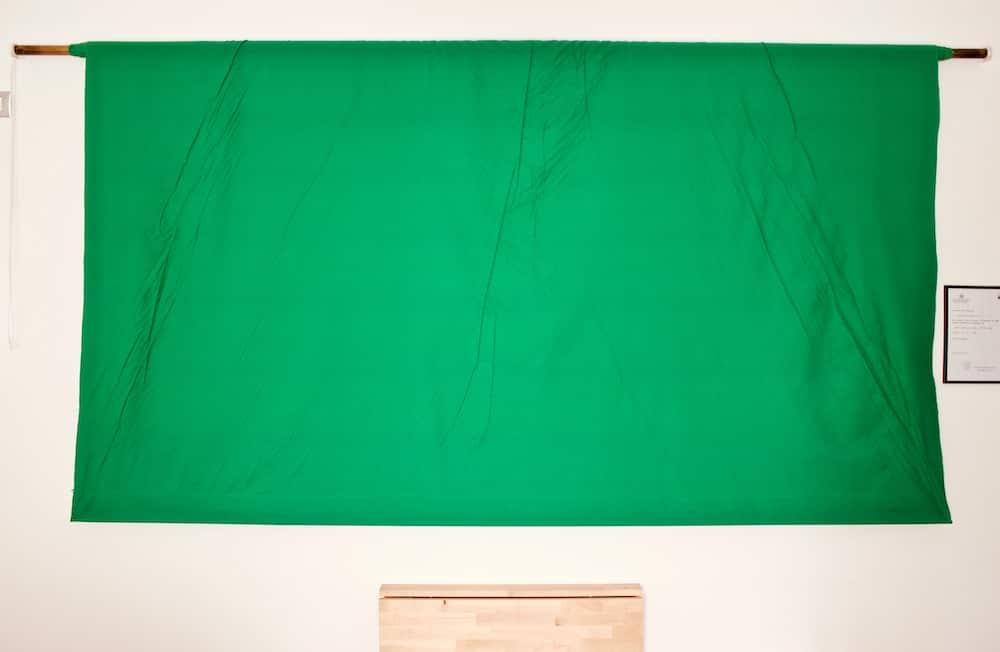 Green screen avvolgibile