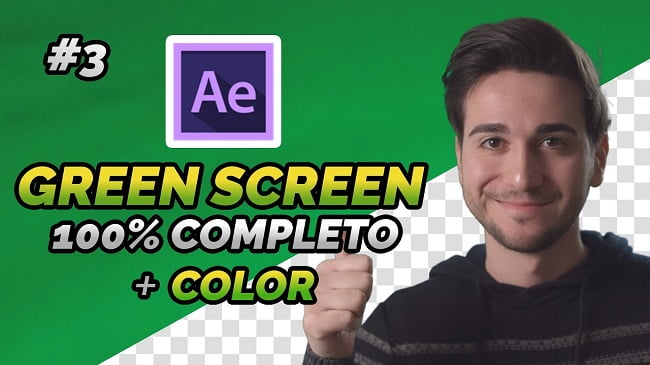 Green Screen After Effects tutorial ITA