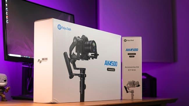 Stabilizzatore Reflex video FeiyuTech AK 4500